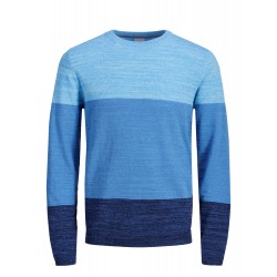 jcosacramento blue  knit crew neck jack jones
