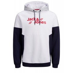 jconissa sweat hood white jack jones