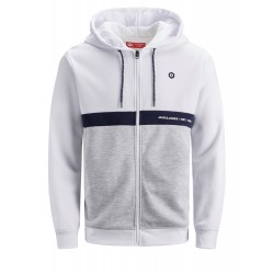 jcoweb full zip hood sweat jack jones