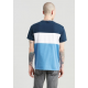 levis ss colorblock tee colorblock dress blue