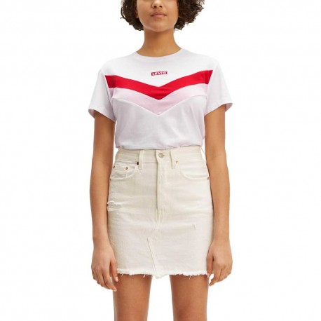 levis florence tee white