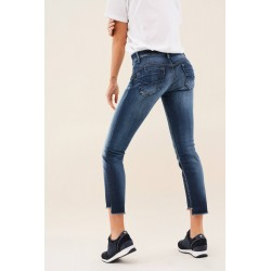 Vaquero wonder push up capri premiun wash Salsa Jeans