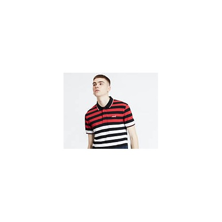levis modern hm polo mod red