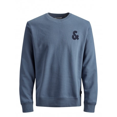 jjechest logo sweat crew neck jack jones