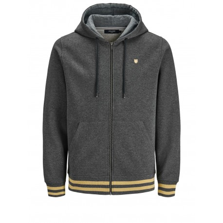 jprfarman sweat zip hood jack Jones