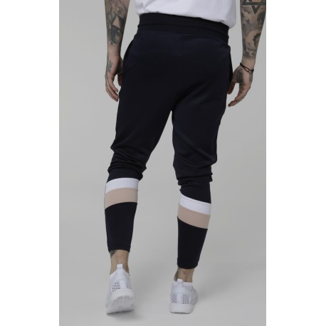 sprint tack pants  navy//pink/white siksilk