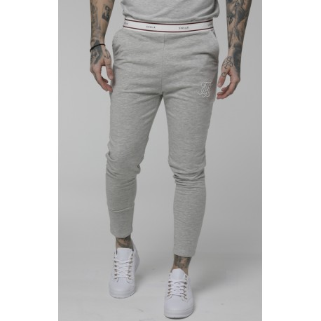 Sport pants grey marl Siksilk
