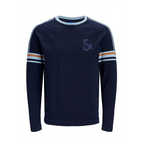 jorsport knit crew neck jack jones