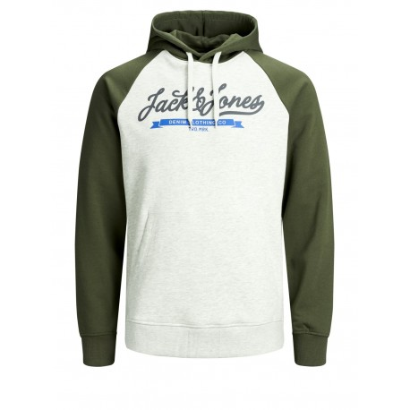 jjecnotrast sweat hood jack jones