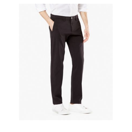 dockers smart 360 chino taper black