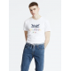 levis 2horse graphic tee 90s logo text white