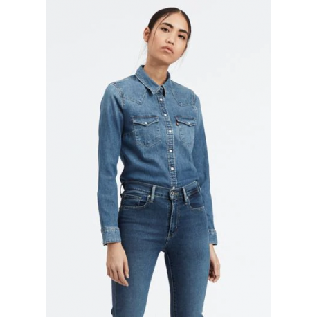 levis ultimate western hazzy blues