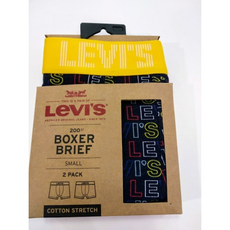 Levis letter outline pack yelow black