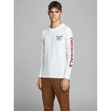 Jorupton tee ls crew neck jack Jones