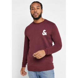 jjechest logo sweat crew neck port royal  jack jones