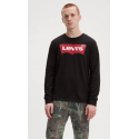 levis std graphic tee hm ls better black