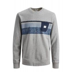 jorlangley sweat crew neck jack jones
