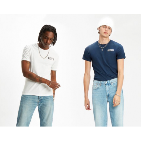 Levis 2pk crewneck graphic 2pack tee