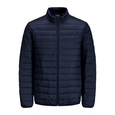 JJERIC PUFFER COLLAR NAVY BLAZER  JACK JONES
