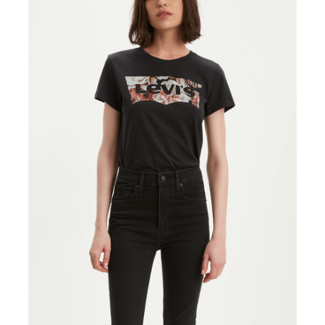 levis the perfect tee hsmk photo fill black