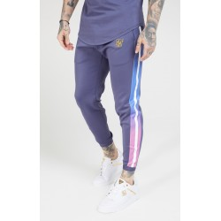 fitted fade cuffed pants tri-neon siksilk