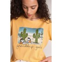Camiseta Snoopy friendship goals salsa jeans