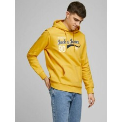 jjelogo sweat hood 2cool jack jones