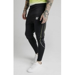 tri fade tape track pants black furo Siksilk