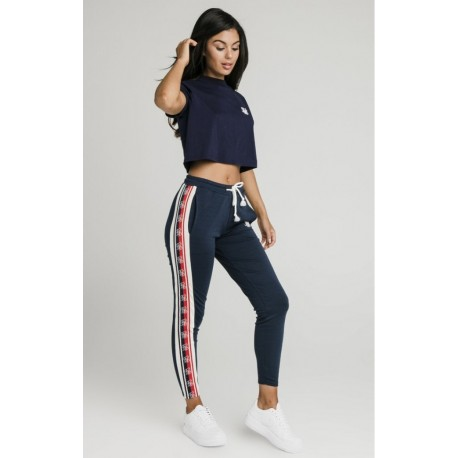 Classic  tape jogger navy Siksilk