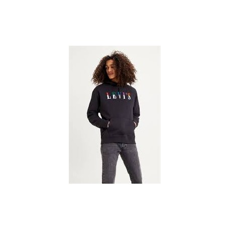 levis relaxed graphic  po ssnl serif jet negro