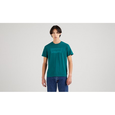 levis housemark graphic tee garment dye forest byome
