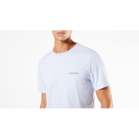 dockers alpha graphic tee lilac