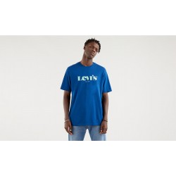 levis relaxed fit tee mv ssnl navy peony