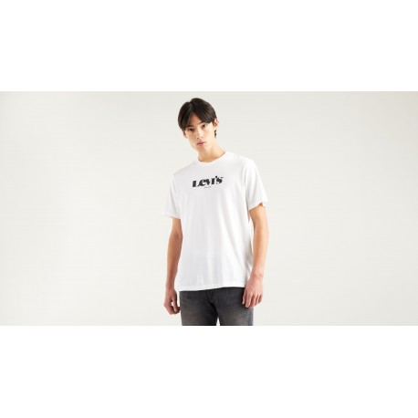 levis relaxed fit tee mv ssnl logo white
