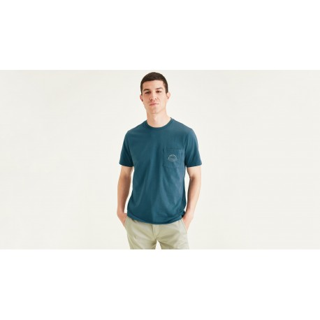 Dockers slim fit pocket tee  whit graphic
