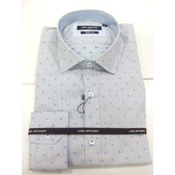 camisa micro estampada Lord Anthony