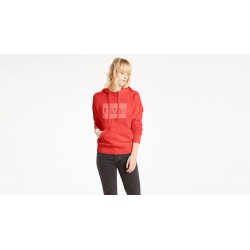 Graphic Sprt Hoodie red  Levis Sweat