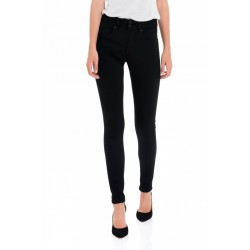 pantalon super pitillo negro push in salsa jeans