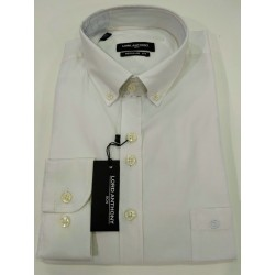 Camisa blanca con bolsillo Lord Anthony