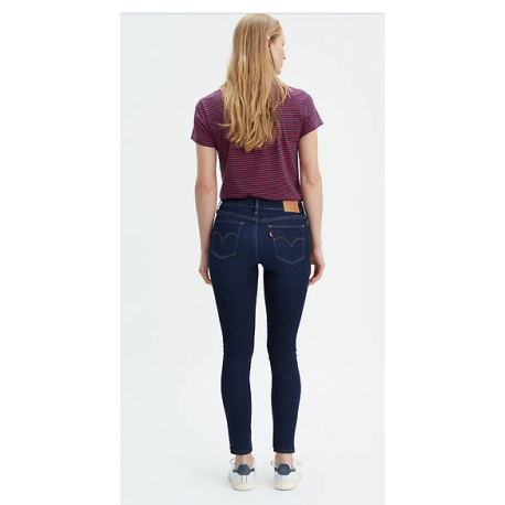 Levis 711 skinny Role model dark denim