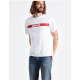 oversize graphic tee mineral white levis